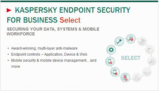 Kaspersky Endpoint Security -Select