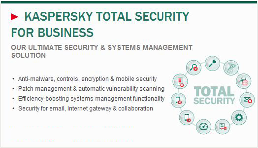 Kaspersky TOTAL Security for -Business